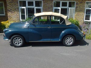 1965 MORRIS MINOR CONVERTIBLE For Sale (picture 1 of 10)