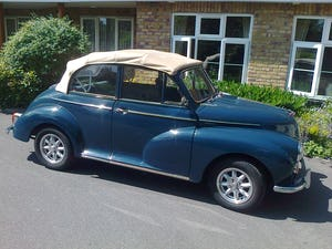 1965 MORRIS MINOR CONVERTIBLE For Sale (picture 9 of 10)