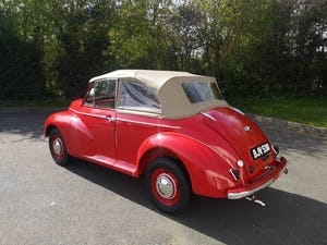 1950 Morris Minor Low light Convertible For Sale (picture 2 of 8)