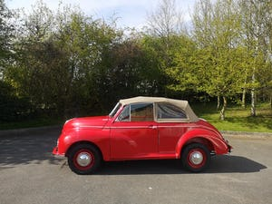 1950 Morris Minor Low light Convertible For Sale (picture 5 of 8)