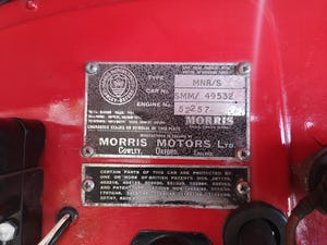 1950 Morris Minor Low light Convertible For Sale (picture 8 of 8)