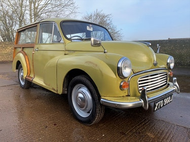 Picture of 1971 MORRIS 1000 TRAVELLER+RESTORED YET PATINATED+12m mot For Sale