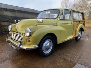 1971 MORRIS 1000 TRAVELLER+RESTORED YET PATINATED+12m mot For Sale (picture 2 of 21)