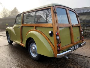 1971 MORRIS 1000 TRAVELLER+RESTORED YET PATINATED+12m mot For Sale (picture 4 of 21)