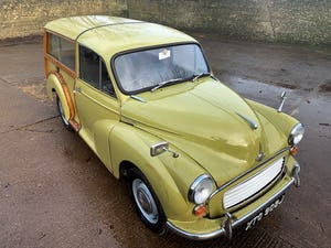 1971 MORRIS 1000 TRAVELLER+RESTORED YET PATINATED+12m mot For Sale (picture 11 of 21)