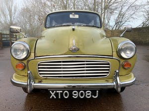 1971 MORRIS 1000 TRAVELLER+RESTORED YET PATINATED+12m mot For Sale (picture 12 of 21)