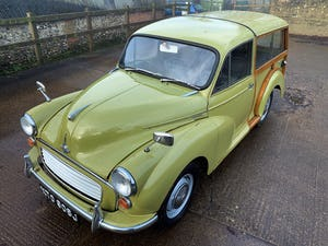 1971 MORRIS 1000 TRAVELLER+RESTORED YET PATINATED+12m mot For Sale (picture 13 of 21)
