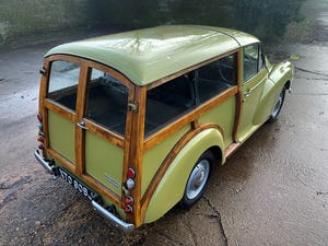 1971 MORRIS 1000 TRAVELLER+RESTORED YET PATINATED+12m mot For Sale (picture 18 of 21)