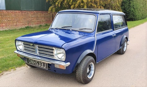 Picture of 1970 Morris Mini Clubman For Sale by Auction