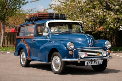 Picture of 1971 Morris Minor 1000 'Traveller' For Sale by Auction