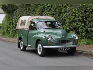 1967 Morris Minor Pickup - 500 Miles Since Full Rebuild For Sale (picture 1 of 17)