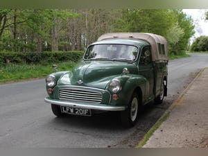 1967 Morris Minor Pickup - 500 Miles Since Full Rebuild For Sale (picture 3 of 17)