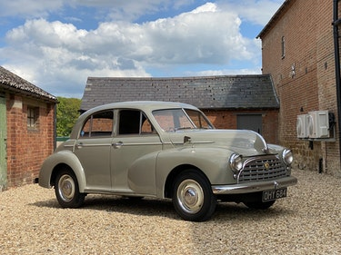 Picture of 1952 Morris Oxford M.O. Over £3000 Recently Spent For Sale
