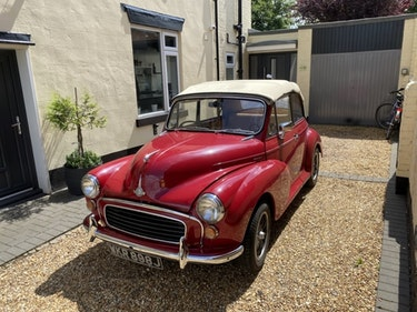 Picture of 1971 Morris Minor 1000 Convertible For Sale by Auction