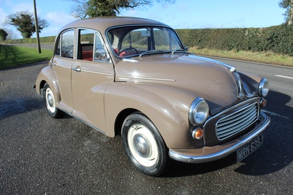 Picture of 1971 Morris Minor Four Door Saloon  Restoration by Marque s For Sale