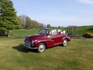 Picture of 1968 Morris 1000 Convertible For Sale