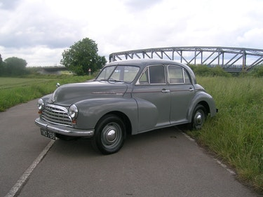 Picture of 1952 Morris Oxford MO Historic Vehicle For Sale
