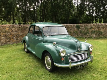 """Picture of 1963 """"Go Anywhere"""" Morris Minor 1000! For Sale"""