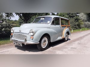 1969 MORRIS MINOR TRAVELLER ~ STRAIGHT & ORIGINAL ~ 3 OWNERS For Sale (picture 1 of 12)