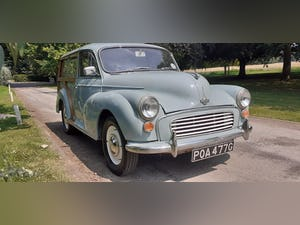 1969 MORRIS MINOR TRAVELLER ~ STRAIGHT & ORIGINAL ~ 3 OWNERS For Sale (picture 8 of 12)
