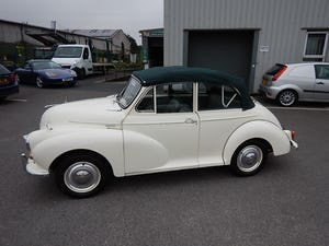 1966 MORRIS MINOR 1000 Convertible ~ For Sale (picture 1 of 10)