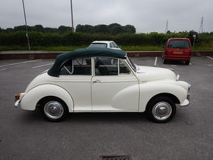 1966 MORRIS MINOR 1000 Convertible ~ For Sale (picture 3 of 10)