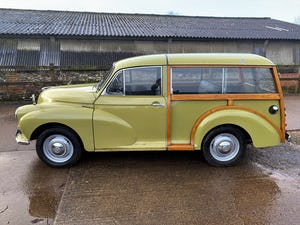 1971 MORRIS 1000 TRAVELLER+RESTORED YET PATINATED For Sale (picture 16 of 22)