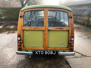 1971 MORRIS 1000 TRAVELLER+RESTORED YET PATINATED For Sale (picture 18 of 22)