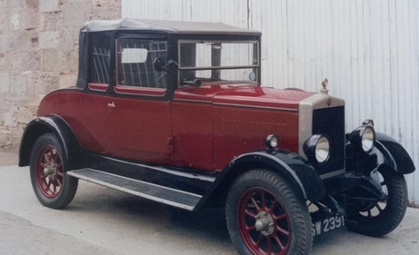 Picture of 1926 Flatnose Morris Oxford 3/4 Coupe For Sale