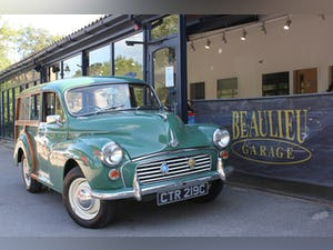1965 Morris minor traveler lovely condition new interior For Sale (picture 1 of 12)