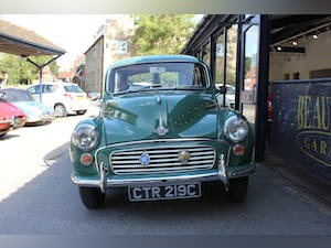 1965 Morris minor traveler lovely condition new interior For Sale (picture 4 of 12)