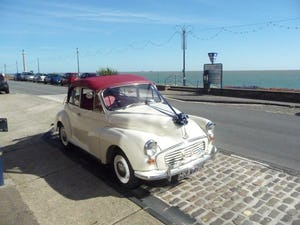 1966 MORRIS MINOR CONVERTIBLE WEDDING CAR IN SUFFOLK For Hire (picture 2 of 9)