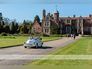 1966 MORRIS MINOR CONVERTIBLE WEDDING CAR IN SUFFOLK For Hire (picture 3 of 9)