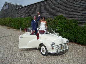 1966 MORRIS MINOR CONVERTIBLE WEDDING CAR IN SUFFOLK For Hire (picture 5 of 9)