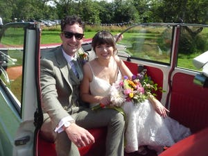 1966 MORRIS MINOR CONVERTIBLE WEDDING CAR IN SUFFOLK For Hire (picture 6 of 9)