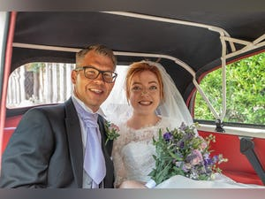 1966 MORRIS MINOR CONVERTIBLE WEDDING CAR IN SUFFOLK For Hire (picture 8 of 9)