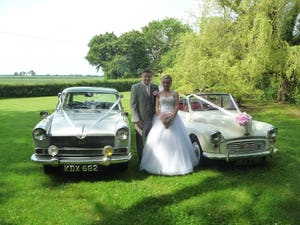 1966 MORRIS MINOR CONVERTIBLE WEDDING CAR IN SUFFOLK For Hire (picture 9 of 9)