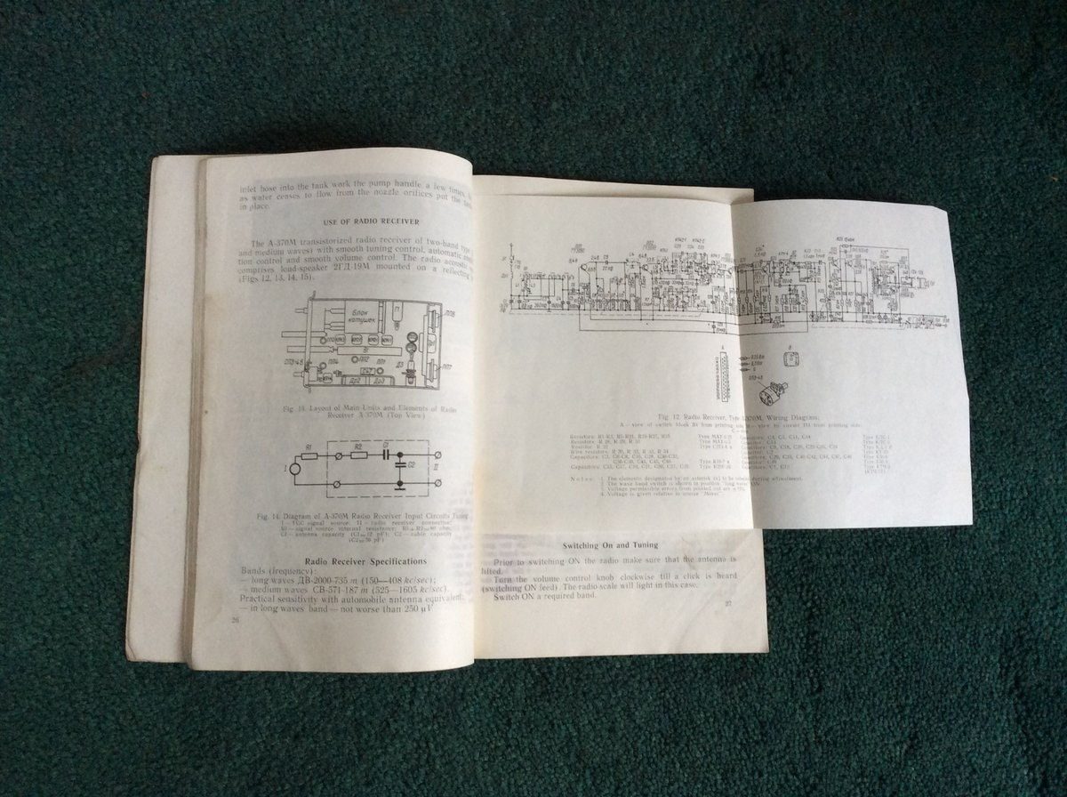 Moskvich Service Manual For Sale (picture 4 of 4)