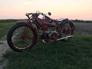Moto Guzzi C2V Production Racer 1928 For Sale (picture 11 of 12)