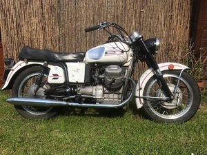Picture of 1977 Moto guzzi V7 van Gent series SOLD