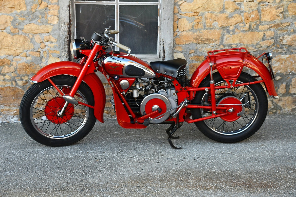 1948 Very nice and original 500cc Moto Guzzi For Sale (picture 1 of 6)