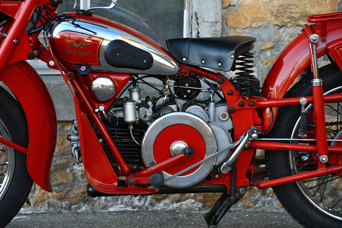1948 Very nice and original 500cc Moto Guzzi For Sale (picture 2 of 6)