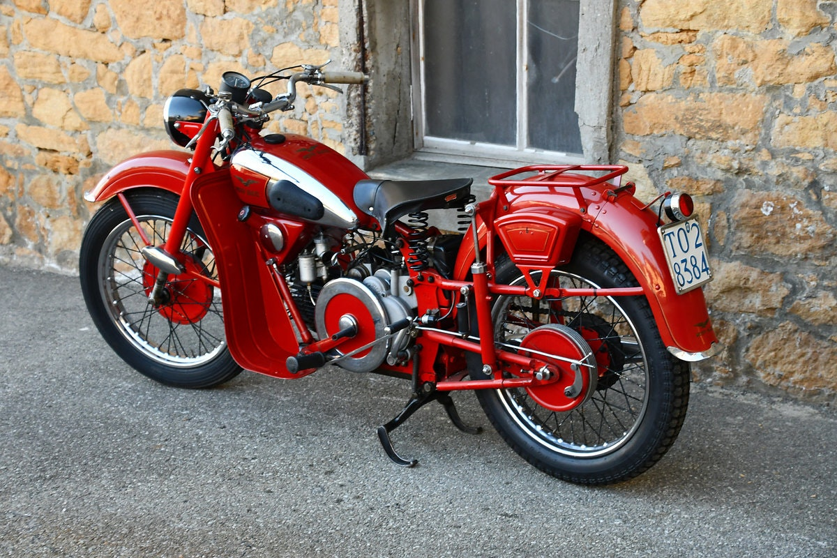 1948 Very nice and original 500cc Moto Guzzi For Sale (picture 6 of 6)