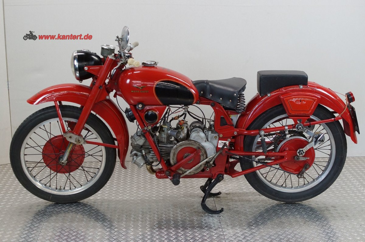 1955 Moto Guzzi Airone 250, 247 cc, 12 hp For Sale (picture 1 of 6)