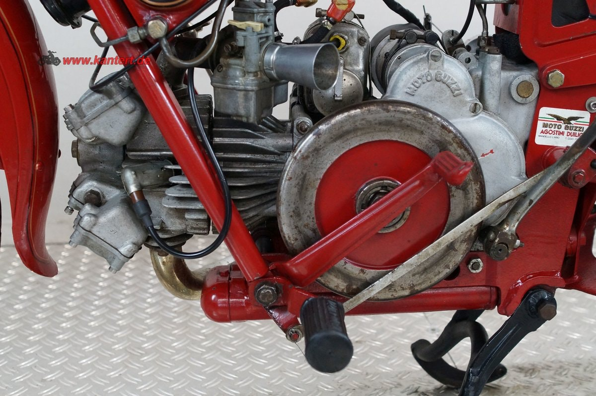1955 Moto Guzzi Airone 250, 247 cc, 12 hp For Sale (picture 5 of 6)