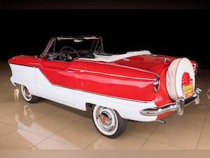 1960 Nash Metropolitan Convertible Restored Ivory(~)Red $32 For Sale (picture 4 of 10)