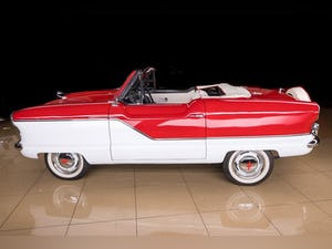 1960 Nash Metropolitan Convertible Restored Ivory(~)Red $32 For Sale (picture 5 of 10)