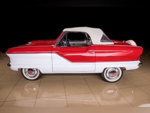 1960 Nash Metropolitan Convertible Restored Ivory(~)Red $32 For Sale (picture 6 of 10)