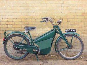 Picture of 1955 New Hudson Autocycle 98cc SOLD