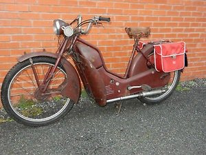 Picture of New Hudson AutoCycle 98cc Manufactured 1958 For Sale